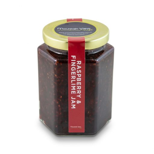 Raspberry & Fingerlime Jam