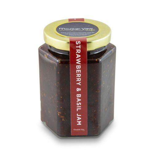 Strawberry & Basil Jam